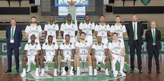 Photo d'équipe - Limoges 2017/2018