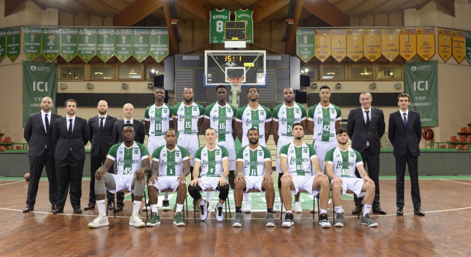 Photo d'équipe - Limoges 2018/2019