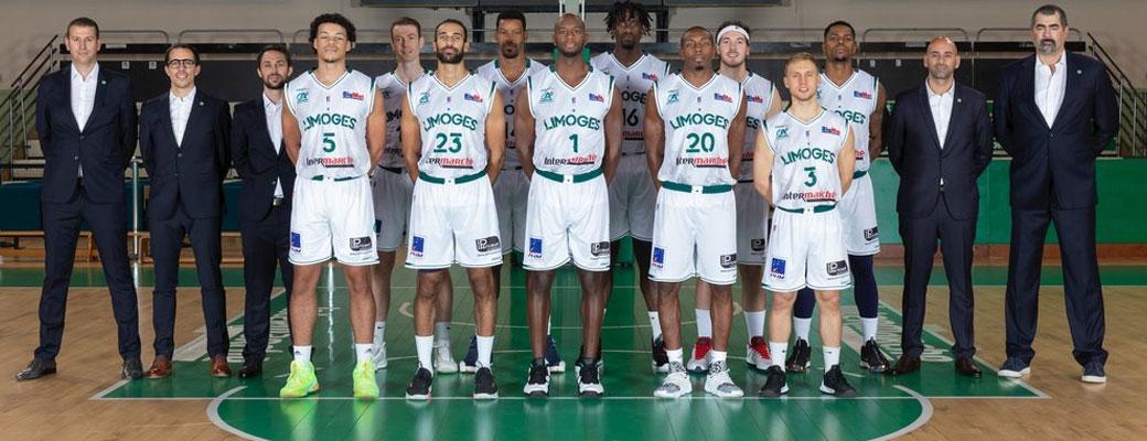 Photo d'équipe - Limoges 2020/2021